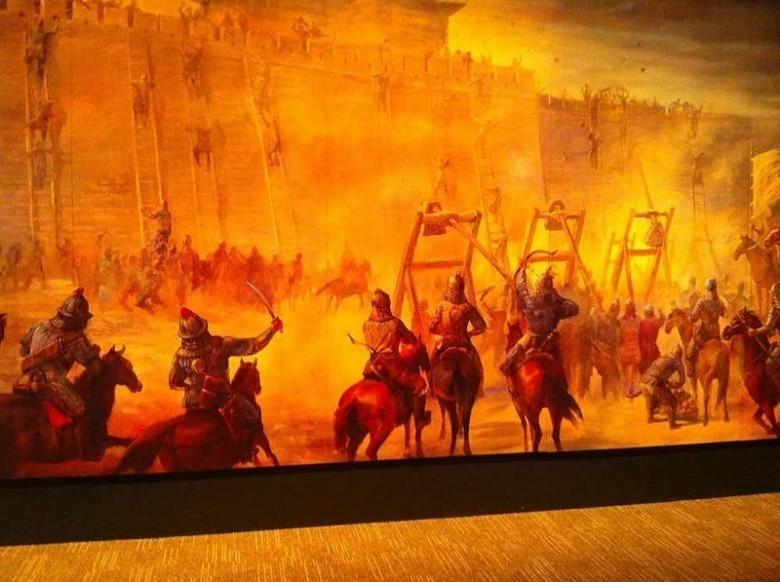 Великий хан одерживал победы над сильнейшими армиями